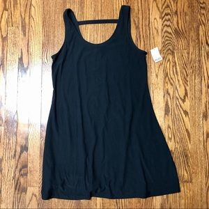 NWT Mudd black flowy comfortable soft dress size L